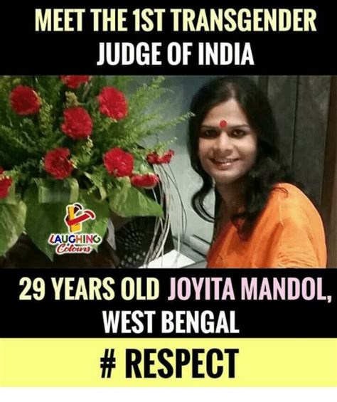 Transgender Meme - meet the 1st transgender judge of india aughing 29 years