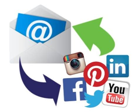 Social Media Search By Email 7 Ways To Integrate Social Media And Email Marketing Back To You Marketing