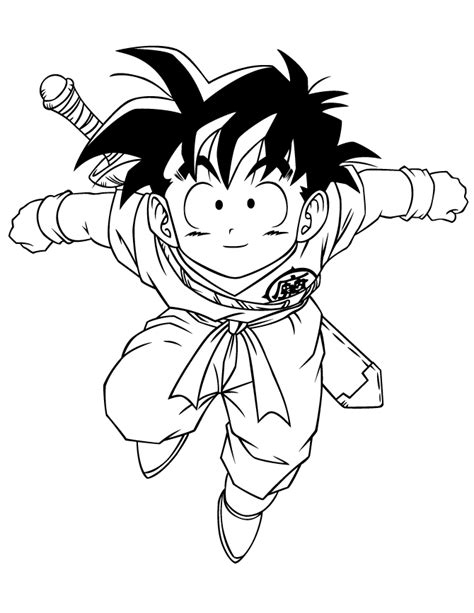 new dragon ball z coloring pages gohan artsybarksy