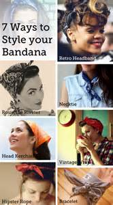 different ways to wear a bandana with hair dotin on you 7 ways to style your bandana for summer