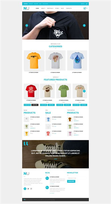 woocommerce themes clothing clothing store woocommerce theme