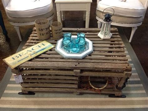 9 best images about lobster trap tables on