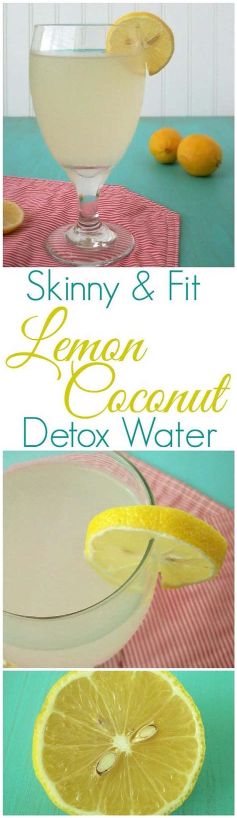 Coconut Water Fast Detox by 17 Best Ideas About Lemon Detox On Weight Loss