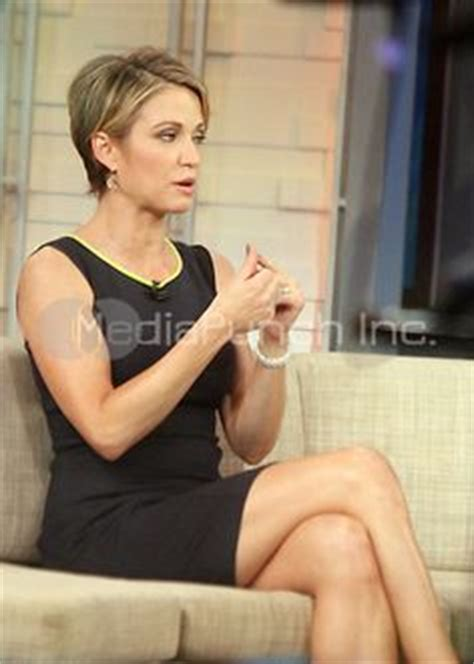 short hiarcuts like amy robachs amy robach good morning america this may be my new summer