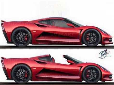 Mid Motor Corvette by The 2017 C8 Corvette Will Be A Mid Engine Killer