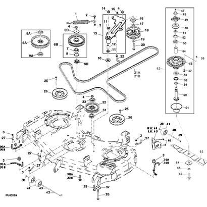 deere d110 parts diagram deere z960a z trak mower parts throughout deere