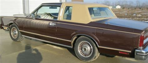 lincoln continental town coupe  sale