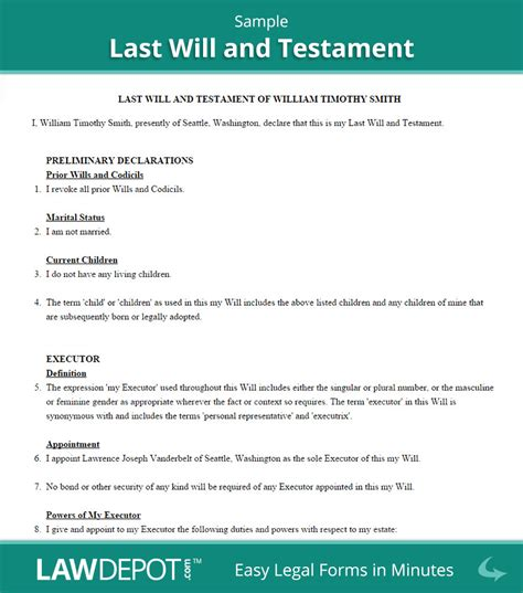 writing a will template free 11 best photos of simple living will form sle living