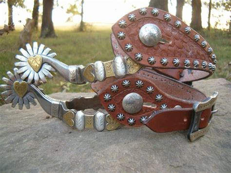 Custom Handmade Spurs - bianchi spurs custom spurs