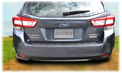 Subaru Rear Bumper Cover by Subaru Rear Bumper Cover Guard Pad Protection For 2017
