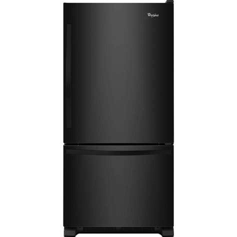 whirlpool 22 1 cu ft refrigerator with bottom mount