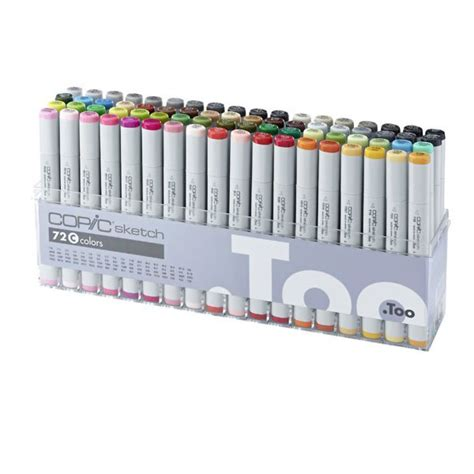 Spidol Warna Copic Sketch Marker jual copic sketch 72 pcs set c dreamshop