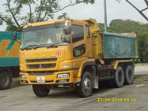 mitsubishi fuso dump truck truck photos common machinery company mitsubishi fuso