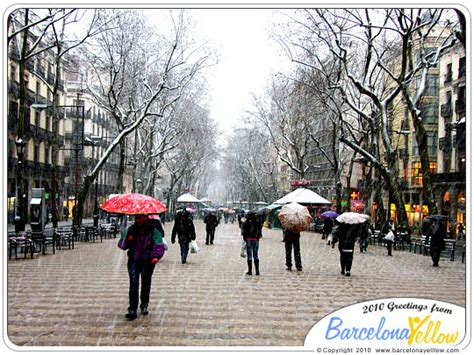 barcelona december weather barcelona 2018 pictures snow barcelona