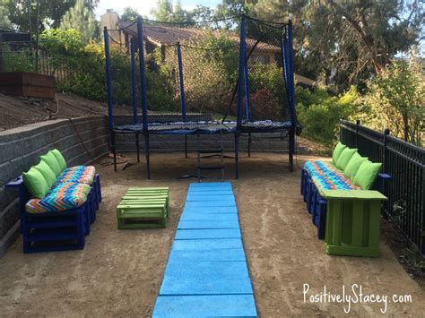 backyard pallet furniture diy backyard pallet furniture positively stacey