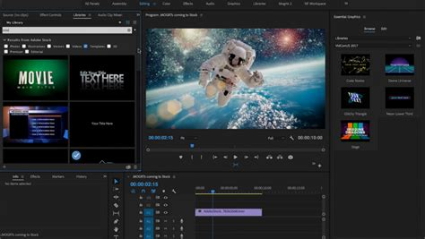 Adobe Bets Big On Vr In New Premiere Pro Updates Adobe Premiere Templates Wedding