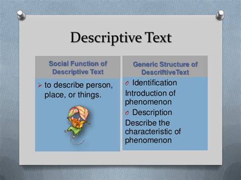 biography text generic structure descriftive