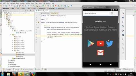 android studio layout youtube develop simple website launcher in android studio youtube