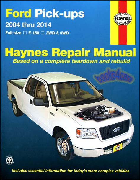 online car repair manuals free 2004 ford f series windshield wipe control shop manual f150 service repair ford haynes book pickup truck f 150 chilton 4x4