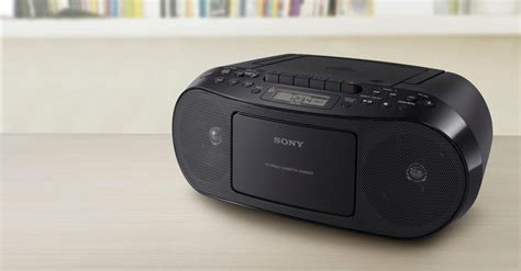 radio cassette cd sony cfd s50 classic cd and boombox with radio