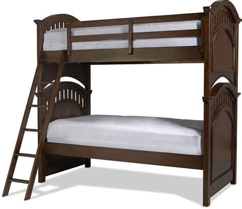 cherry bunk beds brayden bunk bed cherry levin furniture