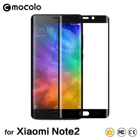 3d curved cover tempered glass for xiaomi note 2