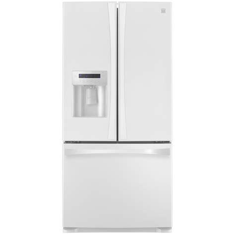 kenmore elite refrigerator ice fan kenmore elite 73132 24 2 cu ft french door bottom