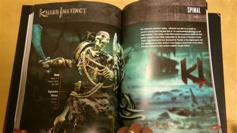 into the killer instinct books killer preview spinal in the killer instinct ultra fan