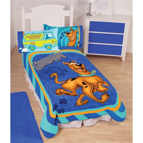 Scooby Doo Bedding Set Scooby Doo Fleece Polyester Blanket For Walmart