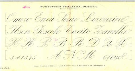 lettere d da copiare quot scrittura italiana posata quot trazo arrugami