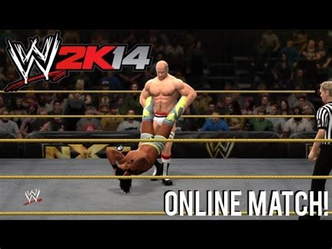 cesaro swing 2k14 antonio cesaro vs kofi kingston match