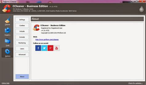 ccleaner 4 15 update 25 jun 2014 activator kaskus ccleaner v 4 15 4725 business and profesional edition with