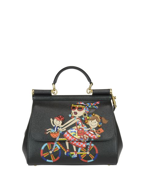 Dg Dolce And Gabbana Suzanne Satchel by Dg Family Sicily Medium Handbag By Dolce Gabbana Totes