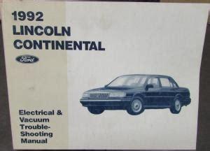 service repair manual free download 1992 mercury topaz 1992 ford mercury service spec taurus sable tempo topaz escort capri
