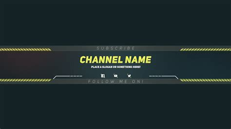 free gta 5 style youtube banner template psd direct download