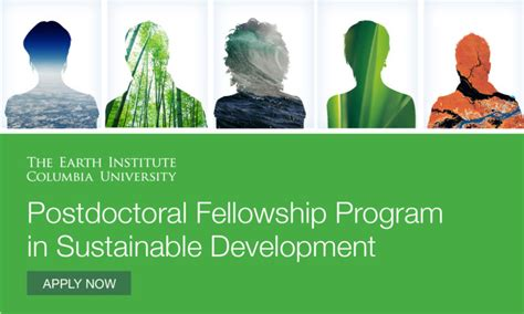 Mba Sustainable Development by Columbia Earth Institute Postdoctoral