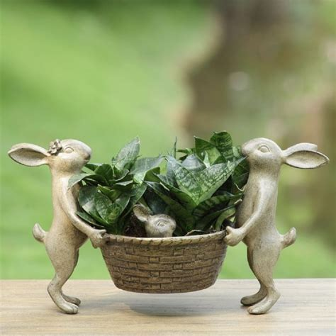 Rabbit Planter by Rabbit Planter Shop Collectibles Daily