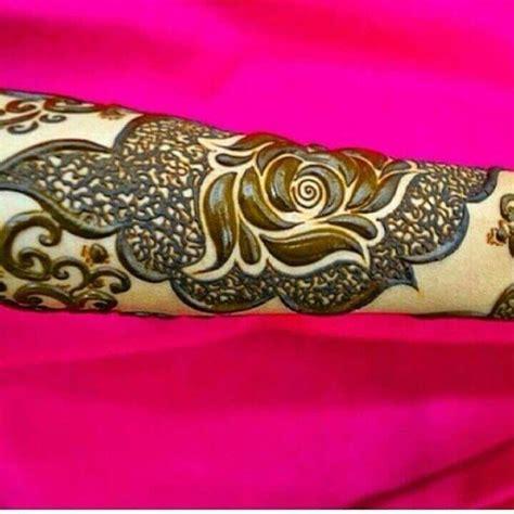 tattoo mandala knöchel dubai rose mehndi design creative brown dubai rose