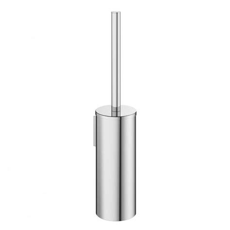 Crosswater Mike Pro Toilet Brush Holder Chrome Crosswater Bathroom Accessories
