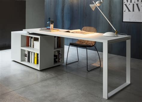 Designer Office Desks Uk Isola Home Office Desk Modern Home Office Desks