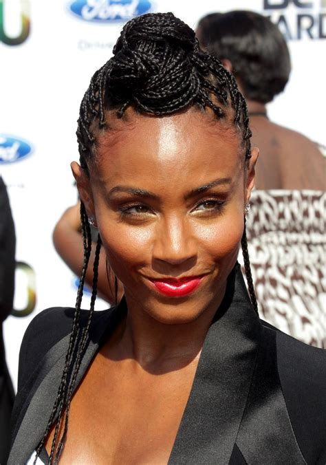 cornrow hairstyles jada pinkett smith more pics of jada pinkett smith long braided hairstyle 9