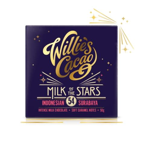 Sho Caviar Surabaya willie s milk of chocolate 50g