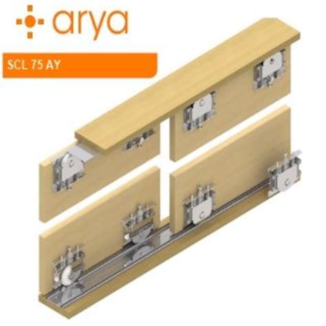 wardrobe adjustable sliding doors mechanism from gea