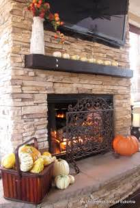 house tour pumpkins fireplaces and hearth