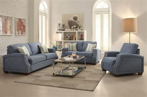 blue couch set betisa sofa set light blue fabric usa warehouse furniture