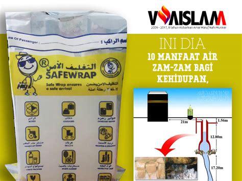 Nabawi Sholeh Teko Air Zamzam 10 manfaat air zam zam bagi kehidupan ternyata voa