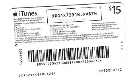 Itunes Gift Card Free Redeem Code - itunes gift card code giveaway infocard co