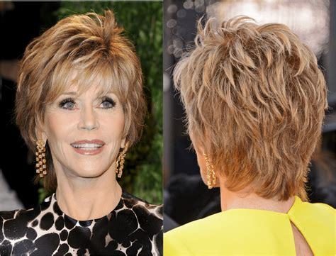jane fonda hair dye commercal here s a plethora of haircuts that look great on older women