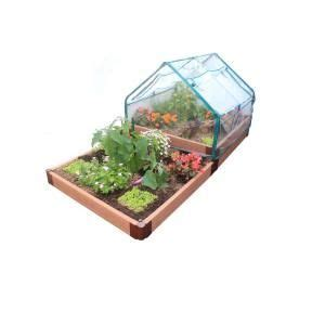 Small Greenhouse Kits Home Depot Greenhouse Kit From Frame It All The Home Depot Model