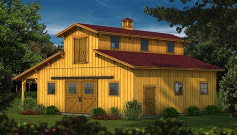 Barn Kit timber frame wood barn plans amp kits southland log homes